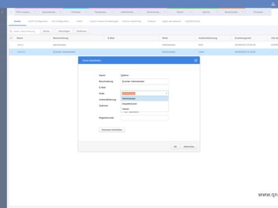 Screenshot von Q'Center Version 1.8.3002 - 16