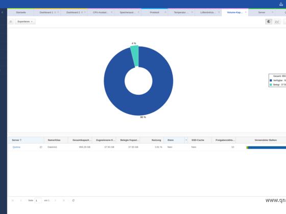 Screenshot von Q'Center Version 1.8.3002 - 09