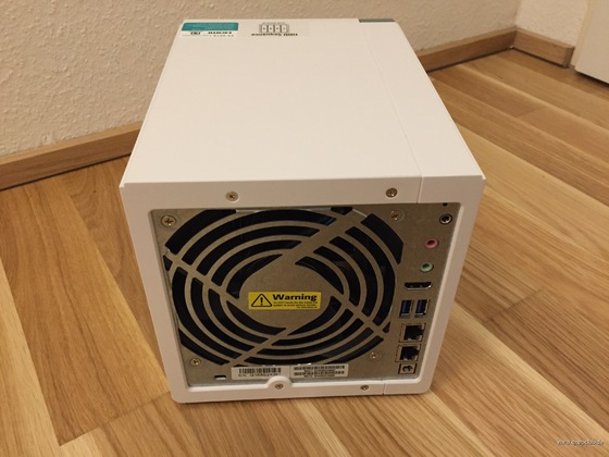 QNAP TS-451A Test-Hardware