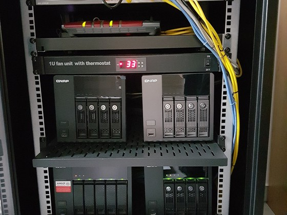 Meine Serverschränke