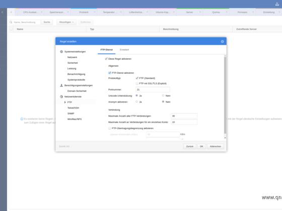 Screenshot von Q'Center Version 1.8.3002 - 18