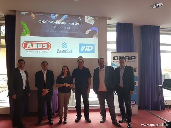 QNAP Workshops 2017 - Berlin