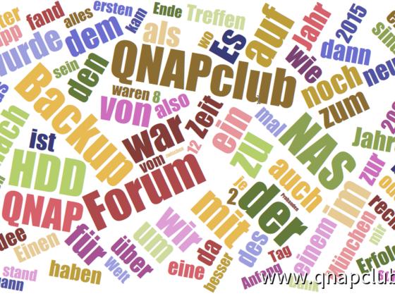QNAPclub Tag Wolke