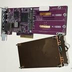 QM2-2P10G1T Dual m.2 PCIe SSD / 10GbE Erweiterungskarte