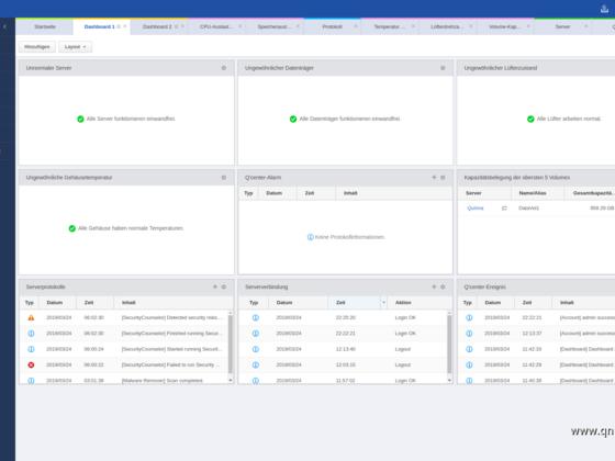Screenshot von Q'Center Version 1.8.3002 - 02