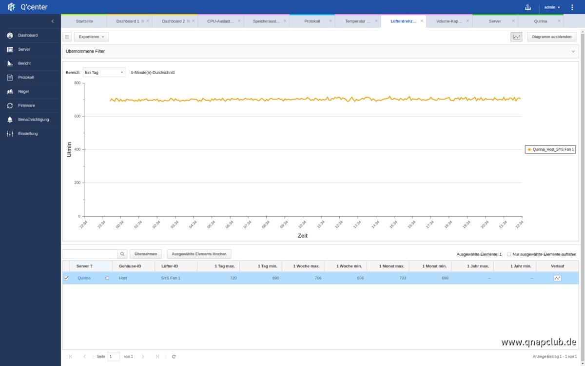 Screenshot von Q'Center Version 1.8.3002 - 08