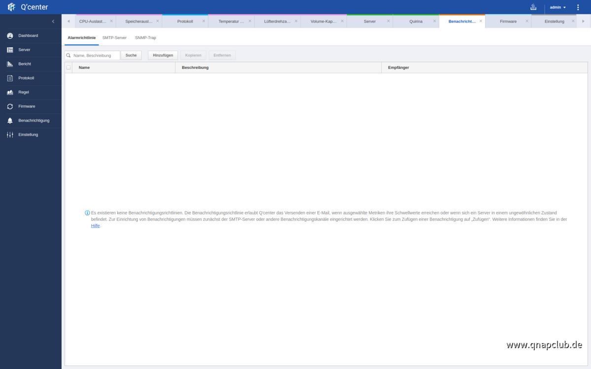 Screenshot von Q'Center Version 1.8.3002 - 15