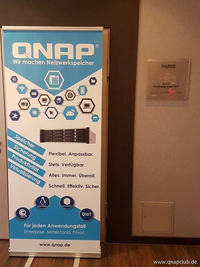 QNAP Workshops 2017 - Düsseldorf