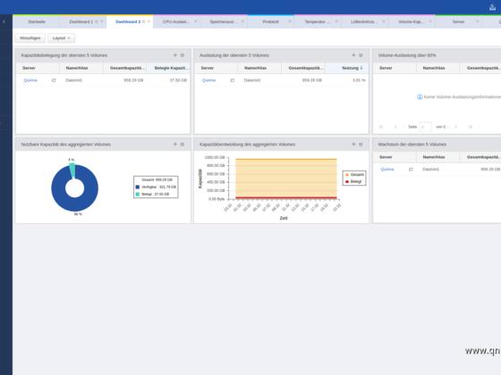 Screenshot von Q'Center Version 1.8.3002 - 03